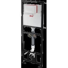 Монтажная рама с бачком для видуара и смесителя, со стоковым коленом AlcaPlast A108F/1500