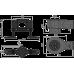 Сифон AlcaPlast APZ-S12 DN50 и комплект регулируемых ног