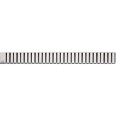 Решетка для лотков AlcaPlast LINE-1050M нержавеющая сталь матовая