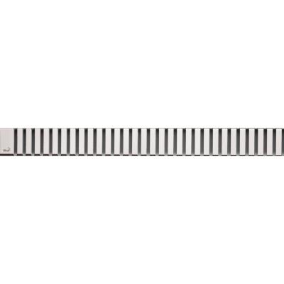 Решетка для лотков AlcaPlast LINE-1450M нержавеющая сталь матовая