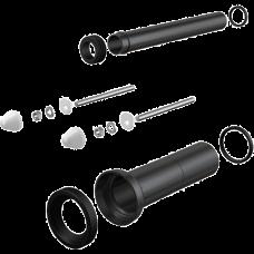 Комплект принадлежностей к унитазу с удлиненными деталями для людей с ограниченной физической активностью AlcaPlast M9000