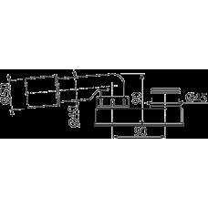 Гидрозатвор сниженный, арт. A531