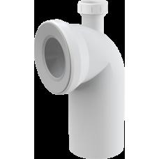 Колено для унитаза 90° с присоединением 40 AlcaPlast A90-90P40