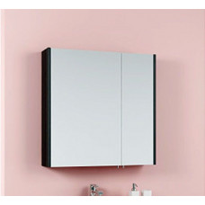 Шкаф-зеркало 70 см AQWELLA Командор, цвет венге магия [Kom.04.07/VM]