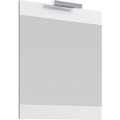 Бригпанель с зеркалом и светильником, белый Br.02.07/W,