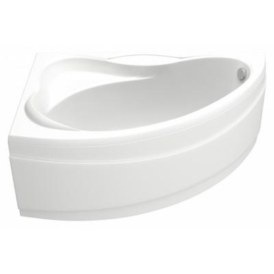 Акриловая ванна BAS ВЕКТРА 1500х900 левосторонняя В 00007(ванна + каркас + слив-перелив)