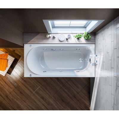 Акриловая ванна BAS ВЕРОНА 1500х700 В 00009(ванна + каркас + слив-перелив)