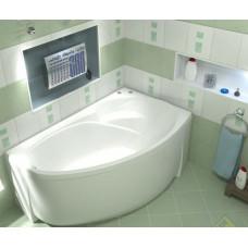 Акриловая ванна BAS ФЛОРИДА 1600 х 880 правосторонняя В 00039(ванна + каркас + слив-перелив)