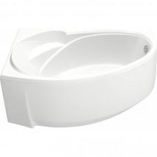 Акриловая ванна BAS ФЛОРИДА 1600 х 880 левосторонняя В 00038(ванна + каркас + слив-перелив)
