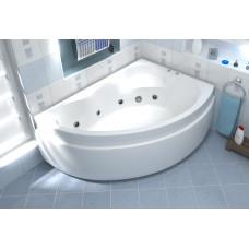 Акриловая ванна BAS ЛАГУНА правосторонняя 1700 x 1100 В 00020(ванна + каркас + слив-перелив)