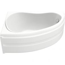 Акриловая ванна BAS АЛЕГРА 1500 x 900 левосторонняя В 00001(ванна + каркас + слив-перелив)