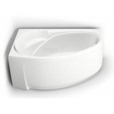 Акриловая ванна BAS ФЭНТАЗИ 1500х880 левосторонняя В 00040(ванна + каркас + слив-перелив)