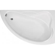 Акриловая ванна BAS ВЕКТРА 1500х900 правосторонняя В 00008(ванна + каркас + слив-перелив)