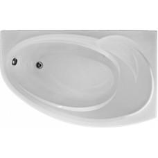Акриловая ванна BAS ФЭНТАЗИ 1500х880 правосторонняя В 00041(ванна + каркас + слив-перелив)