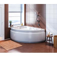 Акриловая ванна BAS ЛАГУНА левосторонняя 1700 x 1100 В 00019(ванна + каркас + слив-перелив)