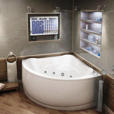 Акриловая ванна BAS МОДЕНА 1500х1500 В 00025(ванна + каркас + слив-перелив)