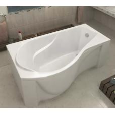 Акриловая ванна BAS КАПРИ 1700 x 800 левосторонняя В 00015(ванна + каркас + слив-перелив)