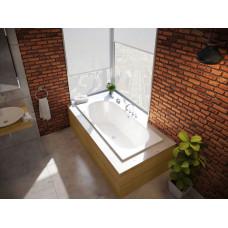 1380-000 ванна прямоугольная BetteStarlet стальная, перелив по центру /170x75/(белый)