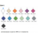 Комплект мебели Эстет Dallas Luxe 100 R напольный 3 ящика ФР-00002318