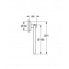 Кольцо для полотенца GROHE Essentials, хром (40365001)