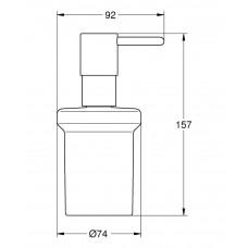 Дозатор жидкого мыла GROHE Essentials, хром (40394001)