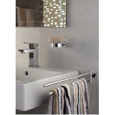 Держатель для стакана или мыльницы GROHE Essentials Cube, хром (40508001)