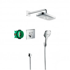 ДУШЕВАЯ СИСТЕМА HANSGROHE RAINDANCE SELECT E 27296000 С ТЕРМОСТАТОМ ХРОМ