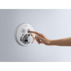 Душевая система скрытого монтажа с термостатом 27297000 Hansgrohe Raindance Select S Shower Select (хром)