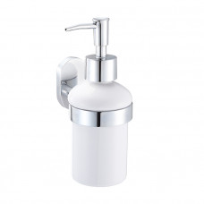 Дозатор для жидкого мыла, керамика, латунь, Mirro Plus, IDDIS, MRPSBC0i46