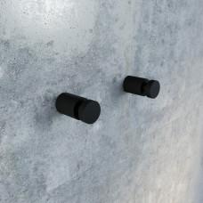Крючки для ванной комнаты IDDIS PETIT, PET2SB1i41, Черный матовый