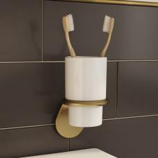 Подстаканник для ванной комнаты IDDIS OLDIE, OLDBRC1i45, Бронза