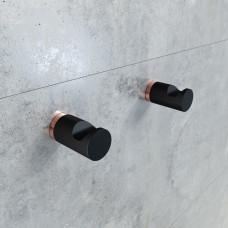 Крючки для ванной комнаты IDDIS PETIT, PET2SR1i41, Черный матовый