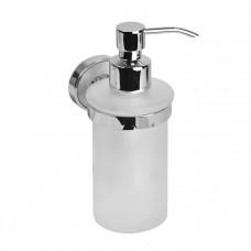 Дозатор для жидкого мыла, матовое стекло, латунь, Calipso, IDDIS, CALMBG0i46
