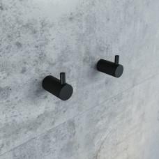 Крючки для ванной комнаты IDDIS PETIT, PET2SB3i41, Черный матовый