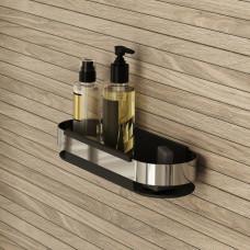 Полка для ванной комнаты IDDIS черная (без коллекции), SHE12SBi44