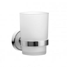 Подстаканник одинарный, матовое стекло, латунь, Calipso, IDDIS, CALMBG1i45