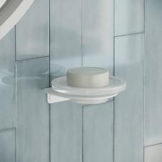 Мыльница для ванной комнаты IDDIS NOA белая, NOAWTG0i42