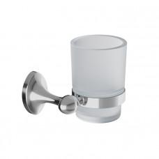 Подстаканник одинарный, матовое стекло, сплав металлов, Male, IDDIS, MALSSG1i45