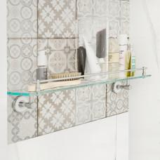Полка, прозрачное стекло, латунь, Calipso, IDDIS, CALMBG0i44