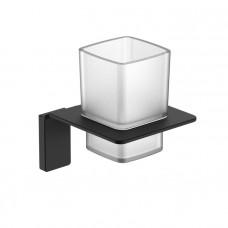 Подстаканник одинарный, матовое стекло, сплав металлов, Slide, IDDIS, SLIBSG1i45