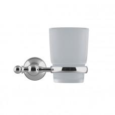 Подстаканник одинарный, матовое стекло, сплав металлов, Retro, IDDIS, RETSSG1i45
