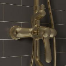 Смеситель для ванны с верхним душем, Oldie, IDDIS, OLDBR3Fi06
