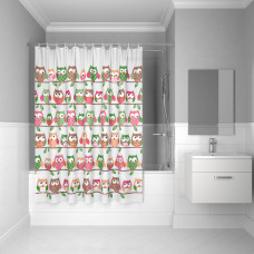 Штора для ванной комнаты, 180*180см, PEVA, P27PV11i11, IDDIS