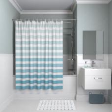 Штора для ванной комнаты, 180*180см, полиэстер, B05P218i11, IDDIS
