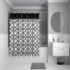 Штора для ванной комнаты, 200*180см, полиэстер, B11P218i11, IDDIS
