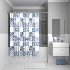 Штора для ванной комнаты, 180*180см, полиэстер, B03P118i11, IDDIS