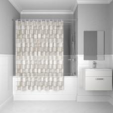 Штора для ванной комнаты, 180*180см, PEVA, P30PV11i11, IDDIS