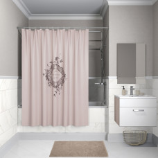 Штора для ванной комнаты, 200*180см, полиэстер, B15P218i11, IDDIS