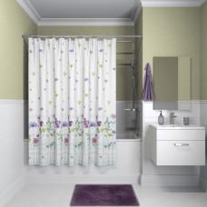 Штора для ванной комнаты, 180*180см, полиэстер, B12P118i11, IDDIS