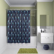 Штора для ванной комнаты, 200*180см, полиэстер, B08P218i11, IDDIS